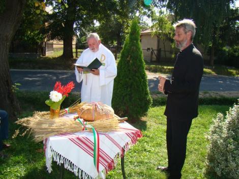 Új kenyér ünnepe ökumenikus keretek között 2009 08.20.
