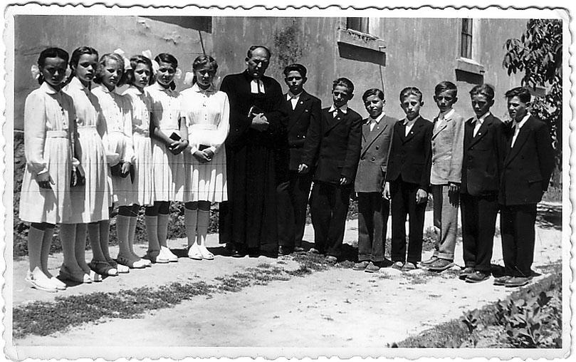 Evangélikus élet a faluban régen